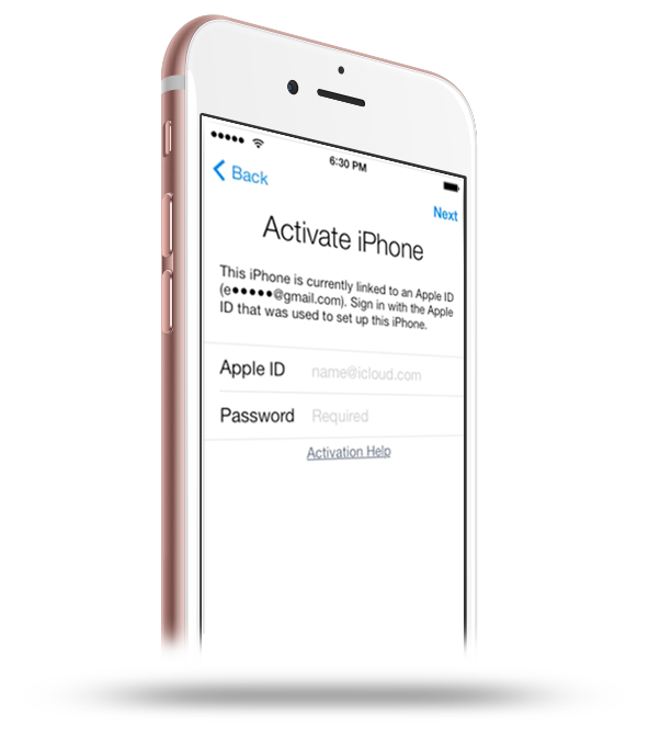 iphone 6s activation locked